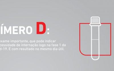 A importância do Dímero D no acompanhamento da COVID-19